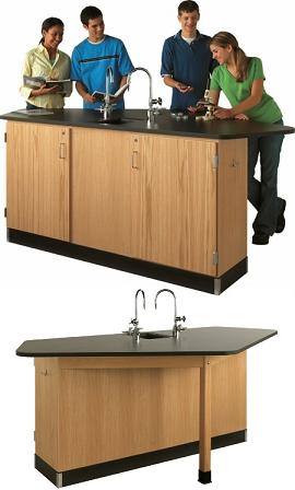 2944k-forward-vision-ii-workstation-with-sink-and-solid-phenolic-resin-top