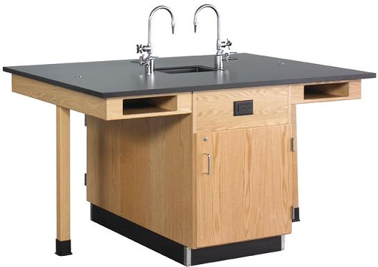 c2616k-diversified-woodcrafts-four-student-service-island-with-cupboard