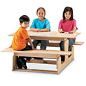 Toddler Picnic Table by Jonti-Craft