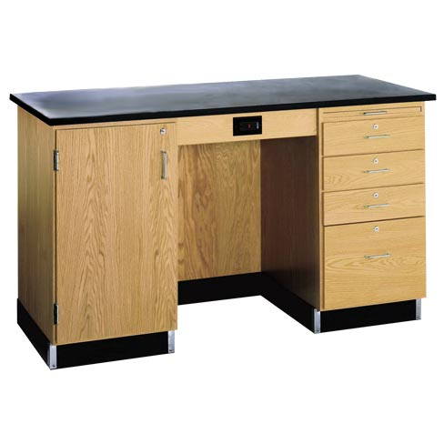1216kf-l-instructors-desk-w-cabinet-on-left-side-wo-sink-60-x-30-solid-epoxy-top