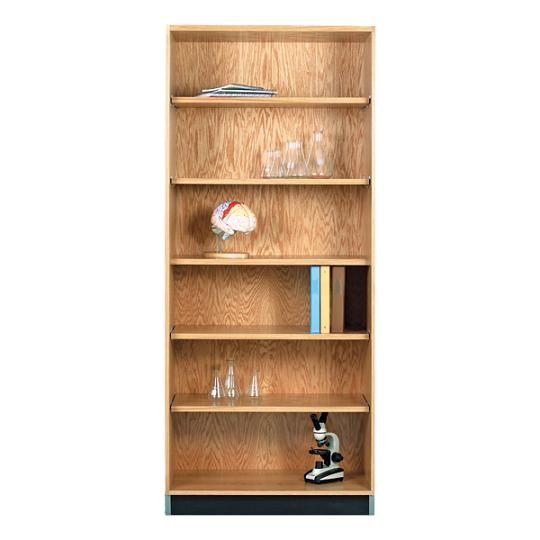 3012422-oak-storage-bookcase-24-w