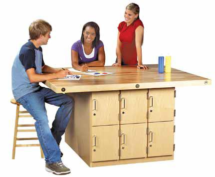 four-station-wood-workbench
