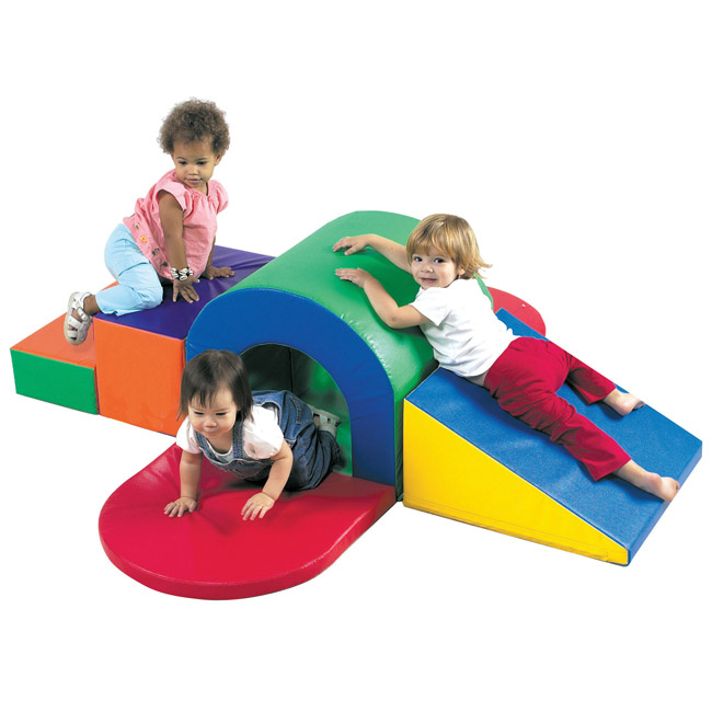 Childrens Factory Soft Play Alpine Tunnel Slide - Cf322-150 | Soft ...