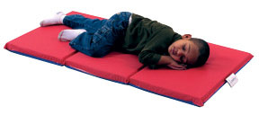 cf400-513rb-3-fold-rest-mat-2-thick-red-blue-5-pack