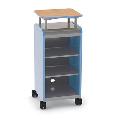 30313-cascade-series-threeshelf-mobile-presentation-cart-wout-doors-21-w-x-19-d