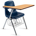 Click here for more Scholar Craft 420 Series Chair Desk w/ Book Basket- Quick Ship by Worthington