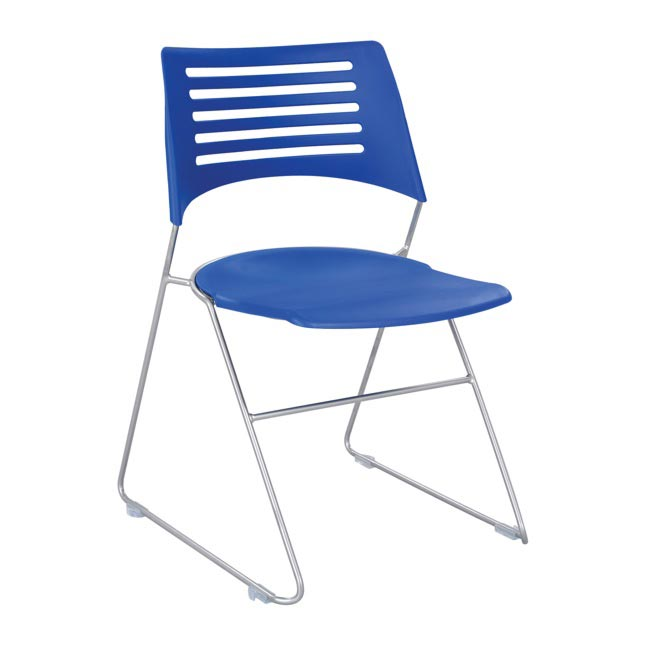 Click here for more Plastic Stacking Chairs by Worthington
