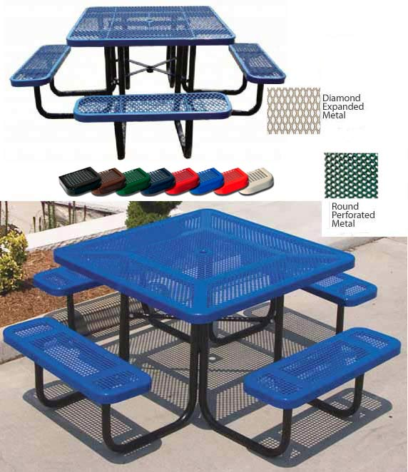square-picnic-table