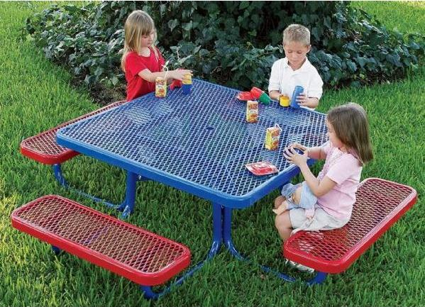 Preschool Outdoor Picnic Table