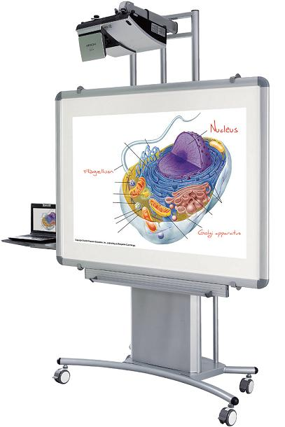 27605-iteach-mobile-interactive-whiteboard-stand-ultra-short-throw-arm
