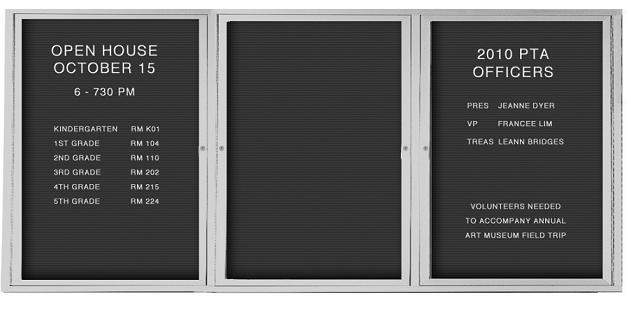 Best-Rite Outdoor Enclosed Directory Board Cabinet