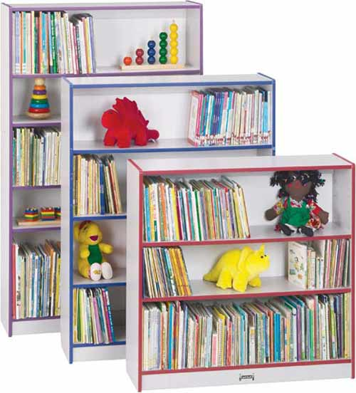 0961jc00-3612wx12dx48h-speckled-gray-laminate-accent-color-4-shelf-bookcase