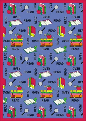 1419e-77-round-red-bookworm-carpet