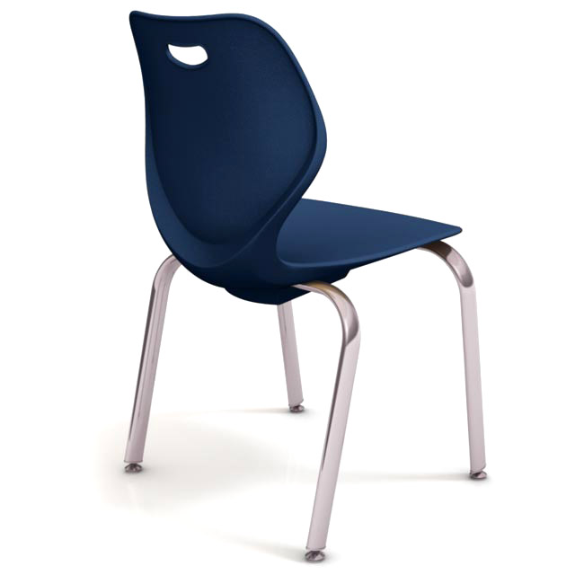 Merveilleux Iw418 18h Intellect Wave 4leg Stack Chair