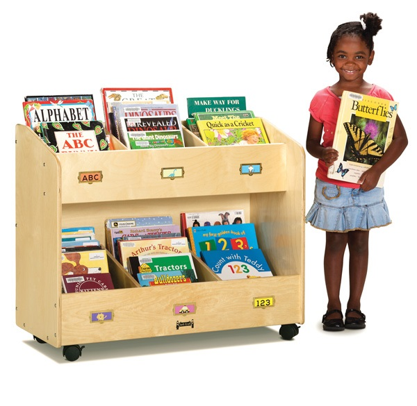 Mobile Big Book Display and Storage