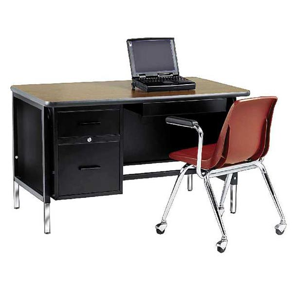 53l0-adjustable-teacher-desk--left-pedestal-desk-w-center-drawer-30-x-48