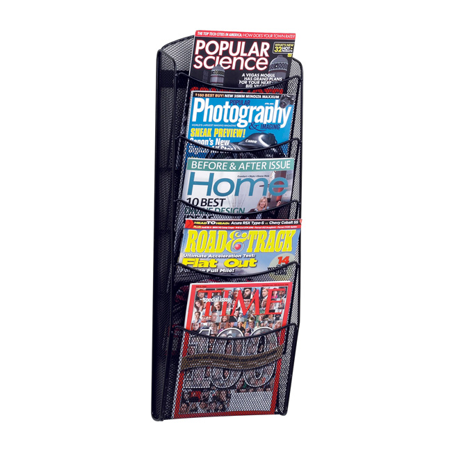 5578bl-onyx-5-pocket-magazine-rack
