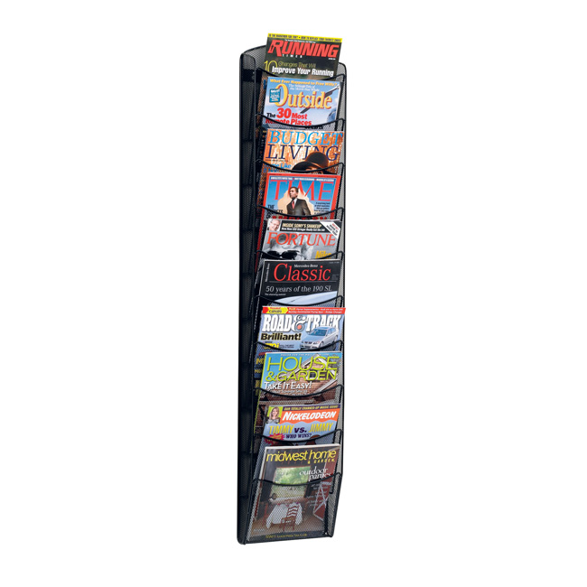 5579bl-onyx-10-pocket-magazine-rack