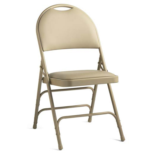 Merveilleux 57314 Comfort Series Steel Folding Chair With Padded