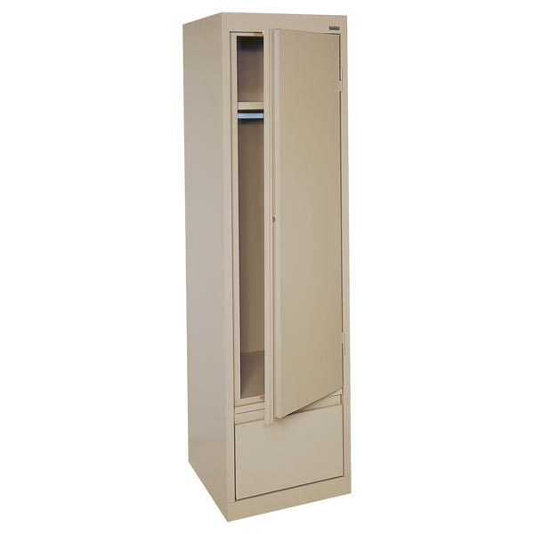 hawf171864-single-door-wardrobe-cabinet-17-x-18-  sc 1 st  Worthington Direct & Sandusky Lee Single Door Wardrobe Cabinet (17\