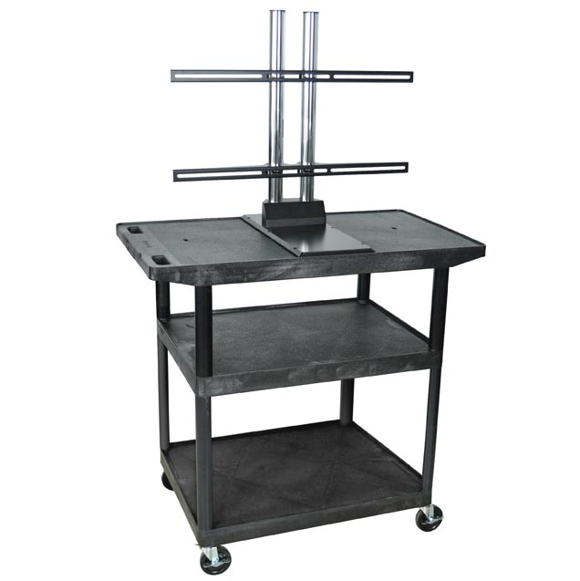le40wtud-68h-black-plasmalcd-3-shelf-cart