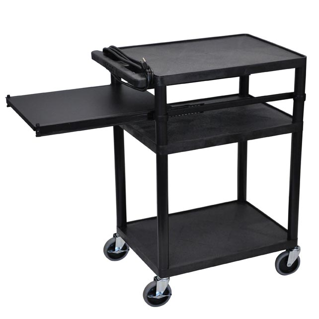 lp34pe-threeshelf-plastic-av-cart-welectric-side-shelf