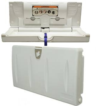 100eh-cream-horizontal-mounting-baby-changing-station