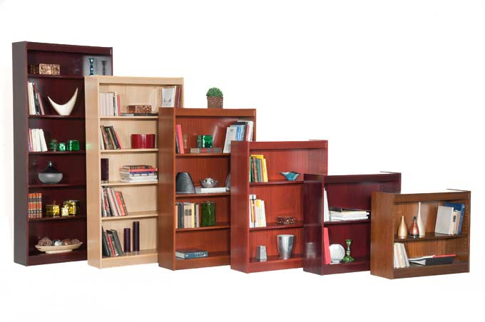 contemporary-style-wood-bookcases-150-lb-lumbercore-shelves-by-norsons