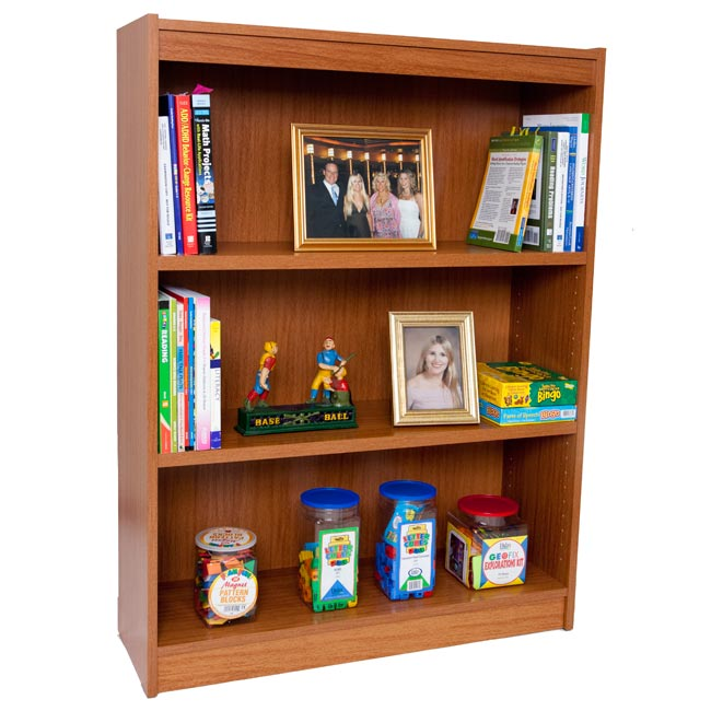 7803-48h-laminate-bookcase-w3-shelves