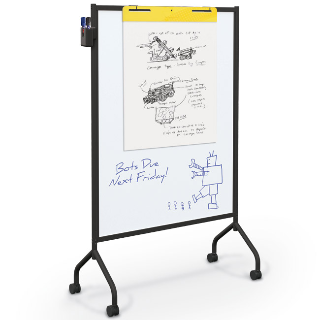 62544-essentials-mobile-magnetic-whiteboard-black
