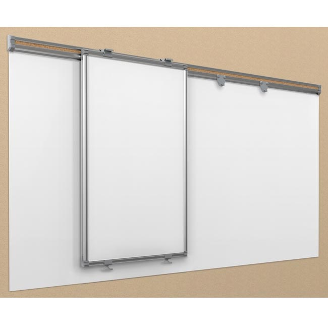Best Rite 6 Sliding Track System W 1 Hanging Panel