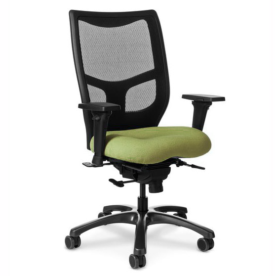 ys78-grade-2-fabric-memory-foam-seat-mesh-back-yes-series-office-chair
