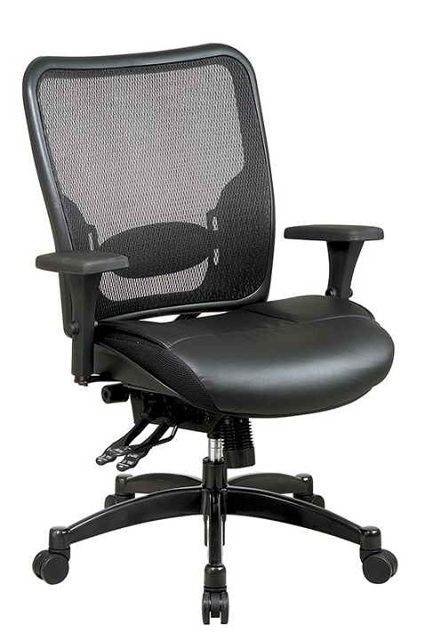 68-50764-breathable-mesh-back-chair-w-leather-seat