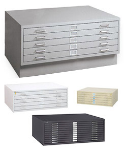 Steel Flat File Drawer
