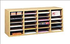 9423mo-3938wx1638hx1134d-oak-grain-24-compartment-literature-organizer