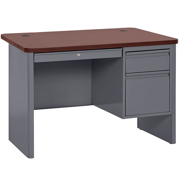 sp704830-700-series-single-pedestal-steel-desk-48w-x-30d