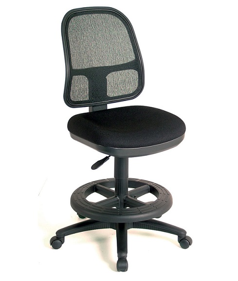 7301100sk-mesh-back-drafting-stool