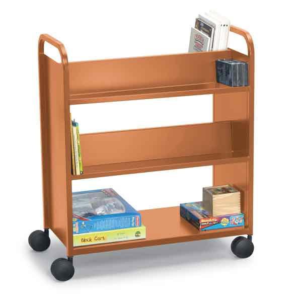 21021-double-sided-booktruck-with-4-sloping-shelves