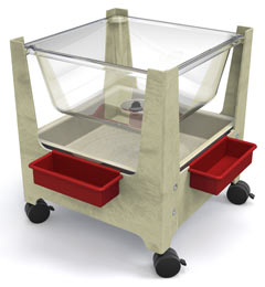 s17924-21sqx25h-sand-frame-seeall-sandwater-table-w9-deep-clear-tub-and-white-plastic-lid