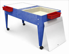 s8724-24h-double-mite-activity-center-w2-mega-trays-and-casters