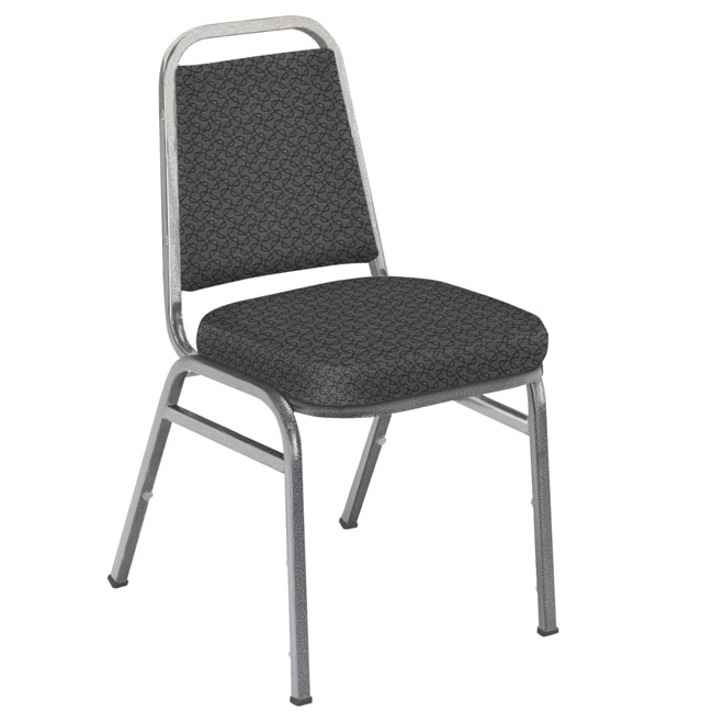 820-designer-fabric-2-seat-stack-chair-with-black-frame