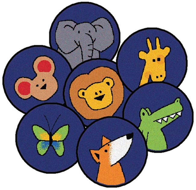82020-gods-animals-circles-set-of-20
