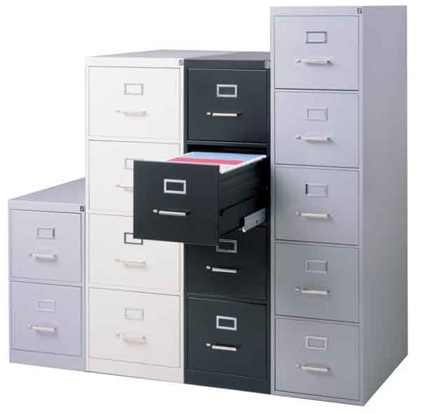 315p 2612deep 5 Drawer Letter File Cabinet