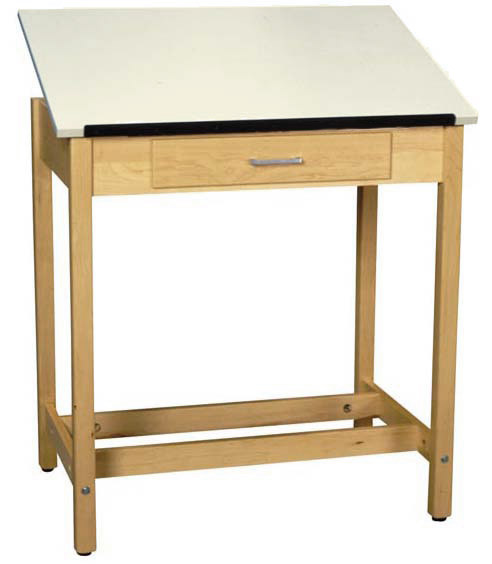 dt1a37-drafting-table-w-1piece-top-large-drawer-37-h