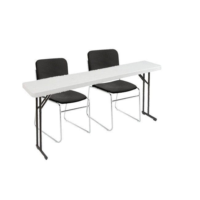 8602-2-bt1860-x-plastic-resin-seminar-folding-table-with-two-padded-stacking-chairs