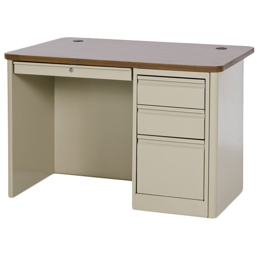 sp904830-900-series-single-pedestal-steel-desk-48w-x-30d