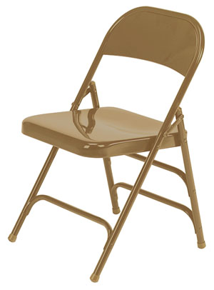 167-golden-bronze-double-braced-folding-chair