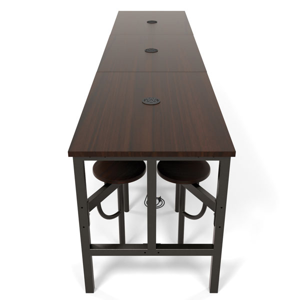 Endure Standing Height Table With Seats L By OFM - Standing height meeting table