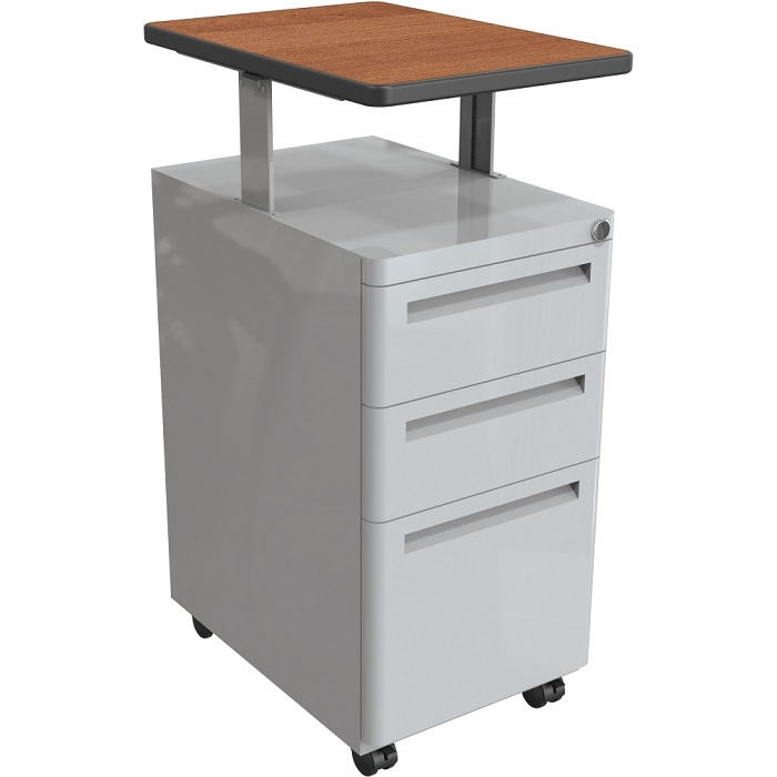 Merveilleux 90369 Mobile Pedestal File Cabinet W Adjustable Top