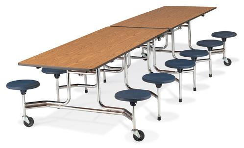 All Mobile Folding Stool Cafeteria Tables By Virco Options